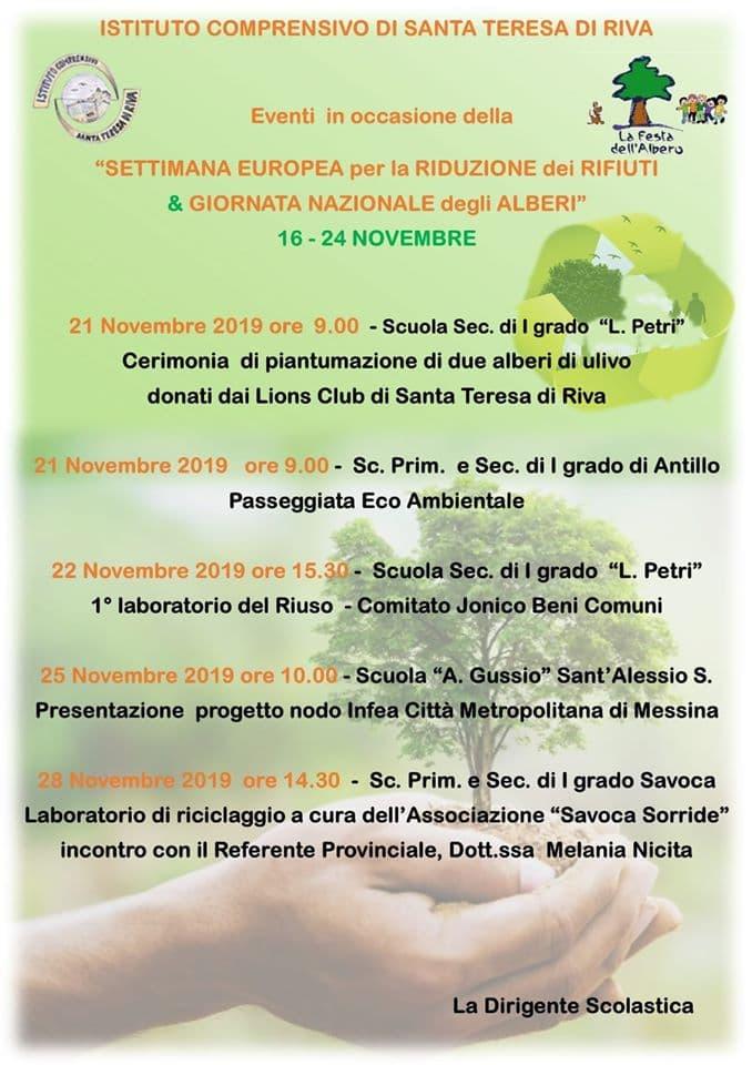 FESTA NAZIONALE DELL'ALBERO 2019 - EVENTI