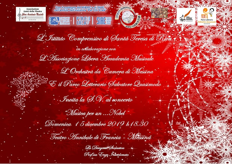 invito concerto 15 dicembre