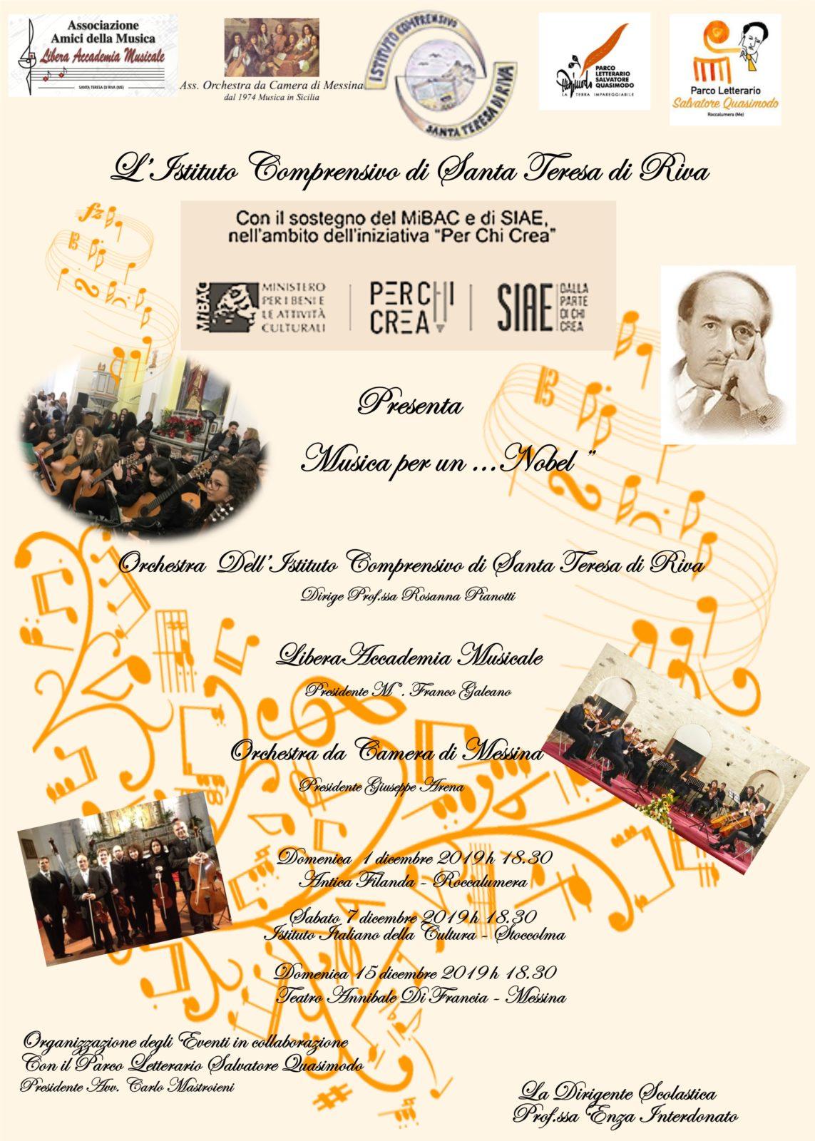 Musica ...per un Nobel
