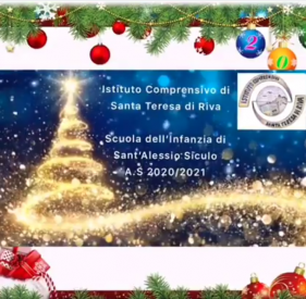 Auguri ... Dalla Scuola dell' Infanzia di Sant'Alessio Siculo!