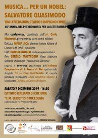 Anniversario Salvatore Quasimodo